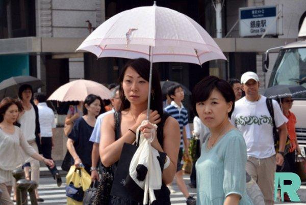 В Японии от жары за неделю скончались 23 человека