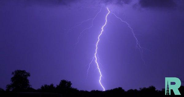В США из-за удара молнии пострадало пять человек