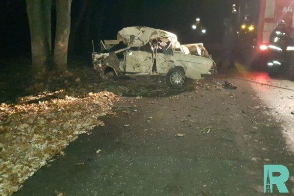В ДТП в Волгоградской области погибли четыре подростка
