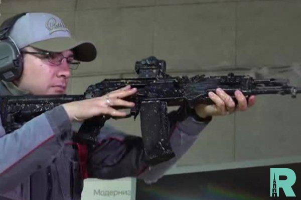 """""""Калашников"""" опубликовал видео экстремального испытания АК-201"""