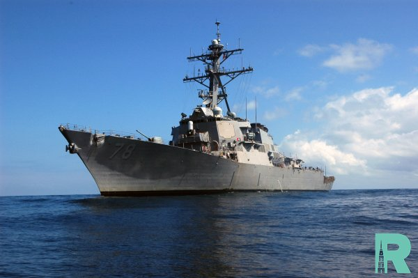 В Черное море вошел американский эсминец