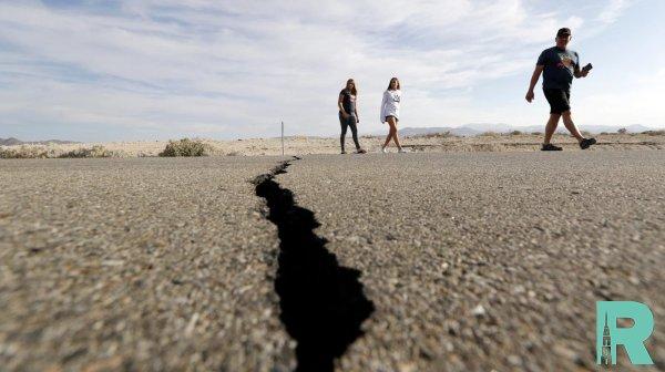 В Калифорнии зафиксирована активизация спящего 500 лет тектонического разрыва