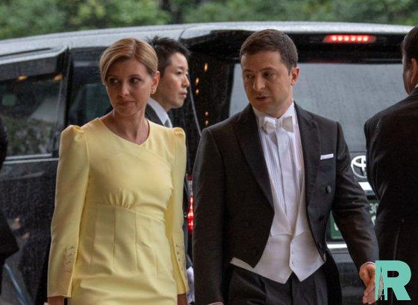 Жена Зеленского была подвергнута критике за неуважение к императору Японии