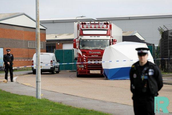 В Англии найден грузовой автомобиль с 39 трупами