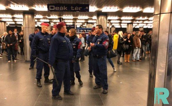 Фанатами ЦСКА в метро Будапешта устроена стычка с полицией