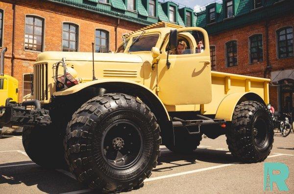 """Уникальный вездеход """"Лесоруб"""" на шасси ГАЗ-66 выставлен на продажу"""