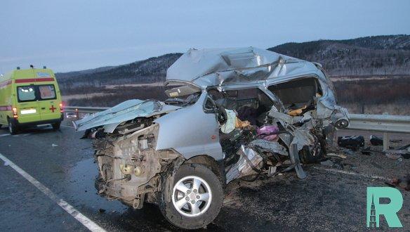 Из-за погибших 11 человек в ДТП на Забайкалье объявили траур